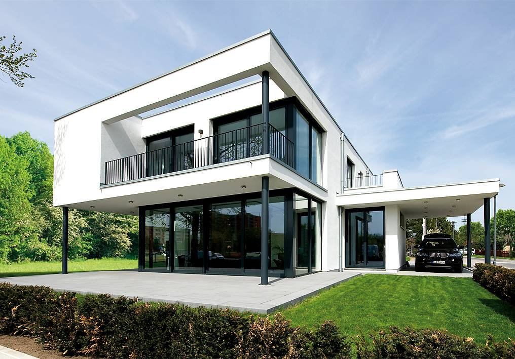 Musterhaus eiche stratus fd 500 heinz von heiden www for Moderner baustil einfamilienhaus