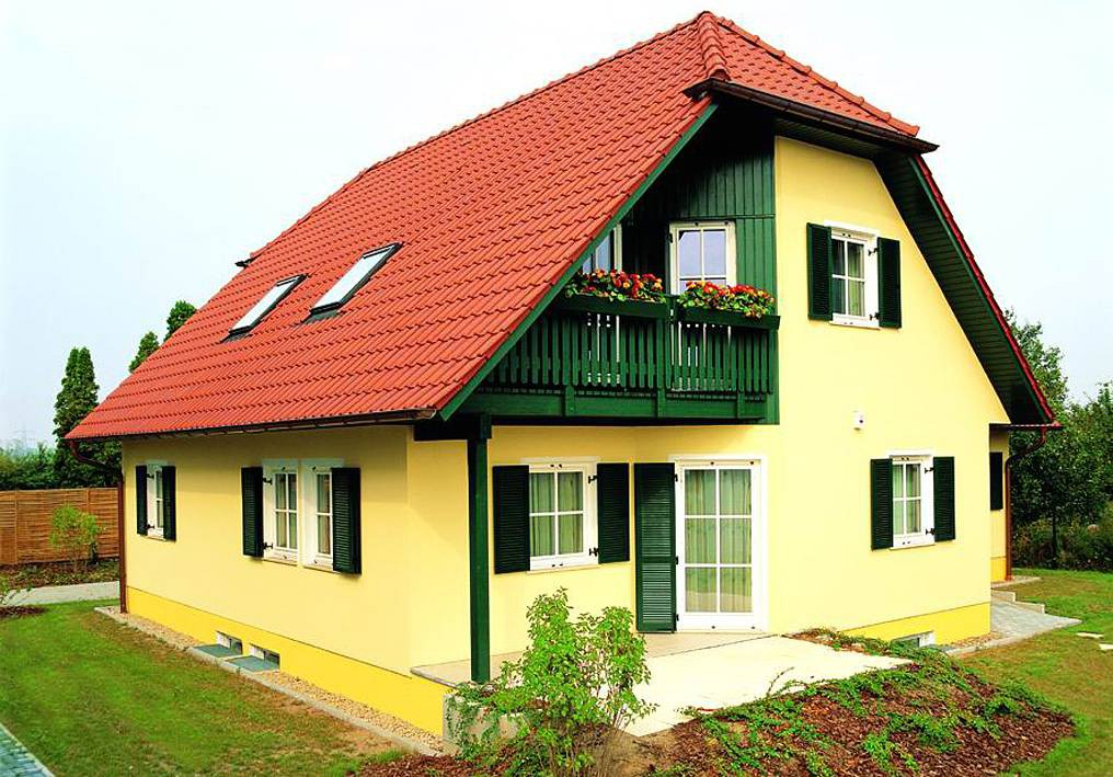 Musterhaus lindenberg bau mein haus for Klassischer baustil