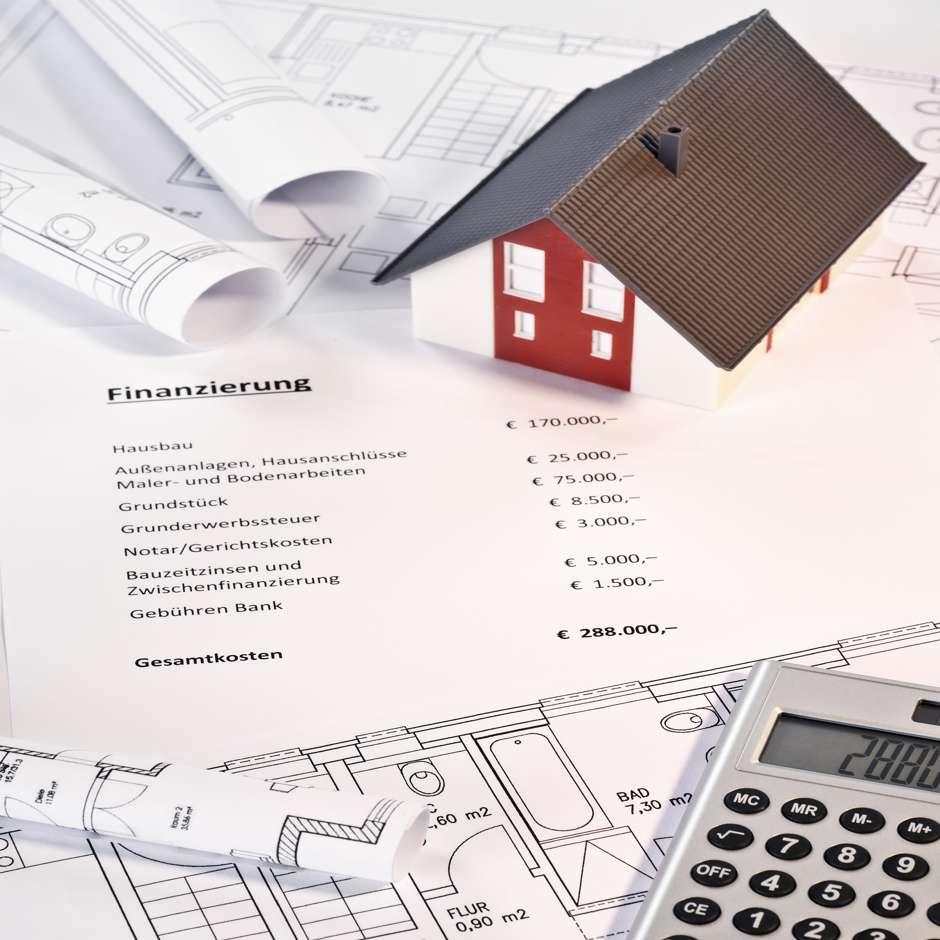 Zahlplan - Baufinanzierung . Foto: Eisenhans - Fotolia
