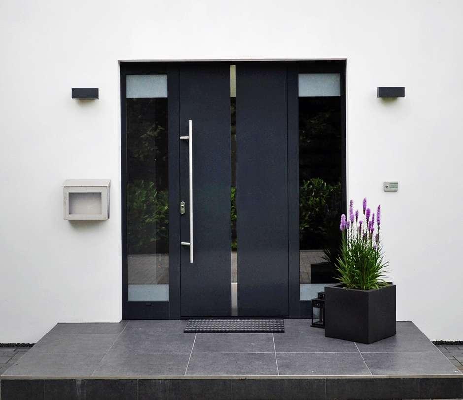 Haustüren sind eine Visitenkarte des Hauseigentümers. Foto: VFF/Aldra Fenster und Türen GmbH