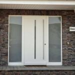 Modern und einladend: Die Haustür erfüllt viele Aufgaben. Foto: VFF/Aldra Fenster und Türen GmbH
