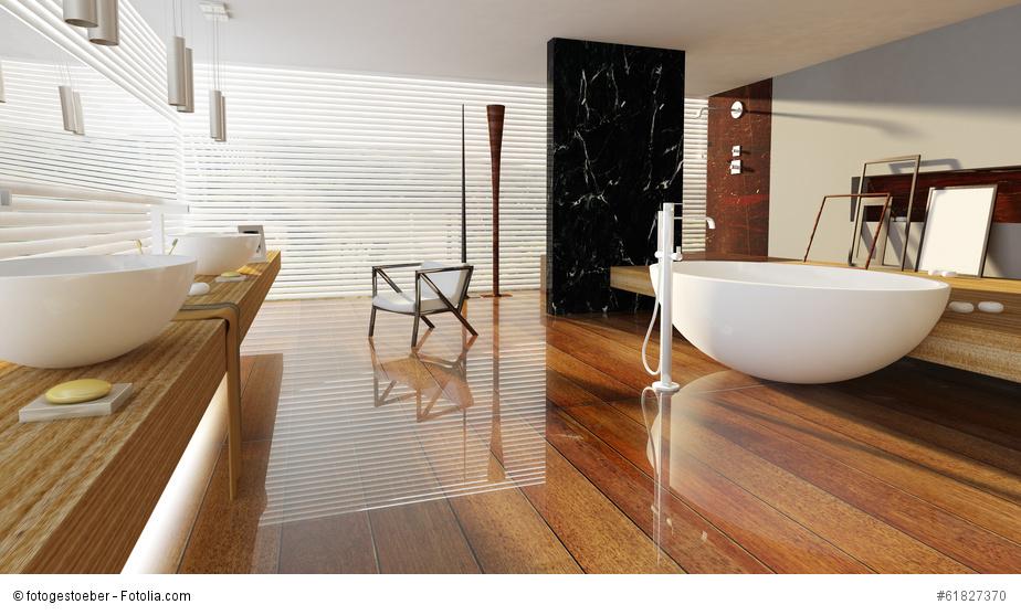 Badsanierung – Wohlfühlfaktor und Wertsteigerung der Immobilie - © fotogestoeber - Fotolia.com