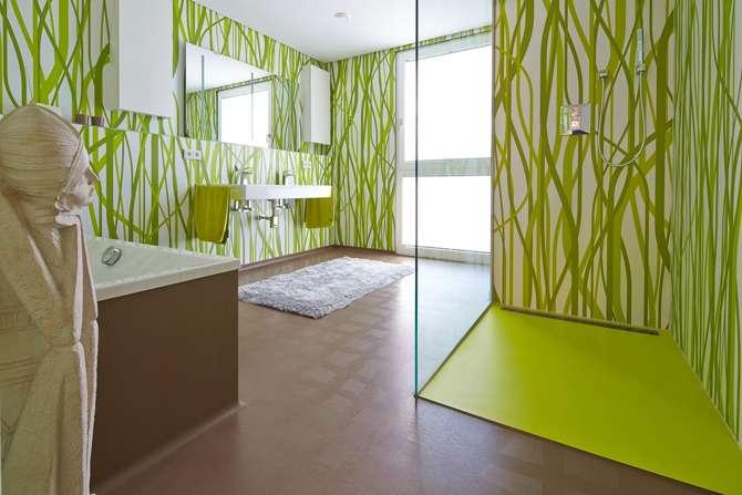 wohnparadies in urbanem design. Black Bedroom Furniture Sets. Home Design Ideas