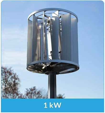Windturbine 1KW Quelle: AGE Tec