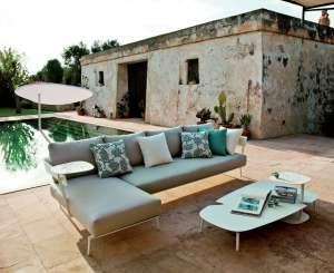 Gartenmöbel, wie sie auch ins Wohnzimmer passen. Quelle: VDM