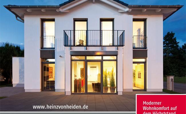Stadtvilla mit erker  Stadtvilla Köpenick von Heinz von Heiden Massivhäuser | www ...