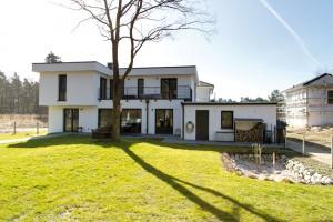 Das Eigenheim der Familie im Villenprk Potsdam. © RIJ / Christina Gericke