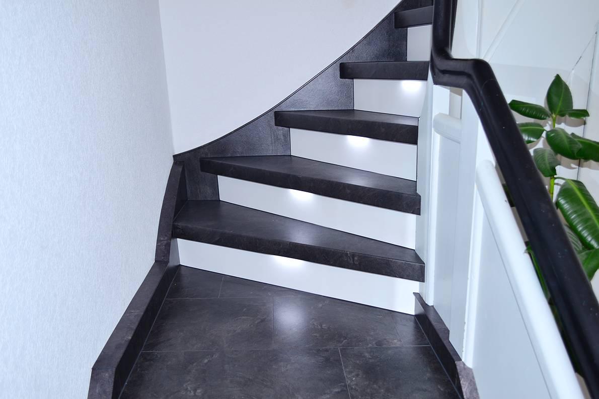 Eine Treppenrenovierung muss nicht kostspielig sein