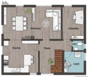 flair 124 re das stadthaus das gr er als sein name ist. Black Bedroom Furniture Sets. Home Design Ideas