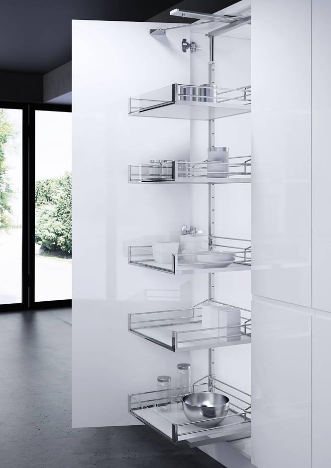 Intelligente Stauraumlösungen Bieten Mehr Komfort In Der Küche