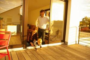 Kosimahaus Bauherren im Interview Foto: Martin Rank