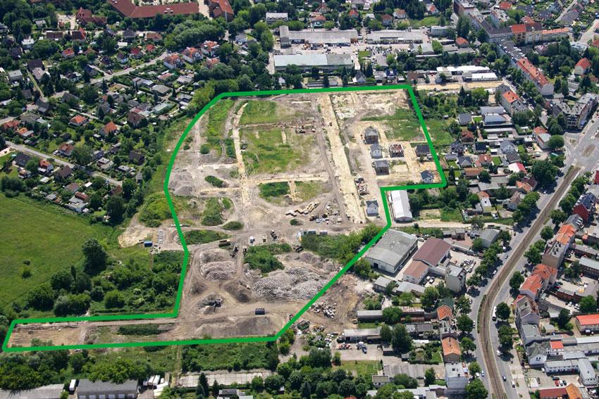 Baugebiet Berlin-Pankow, Berliner Str. 46 - 49, 13127 Berlin, Tel.: 030 / 47 47 67 38 © HELMA Wohnungsbau GmbH