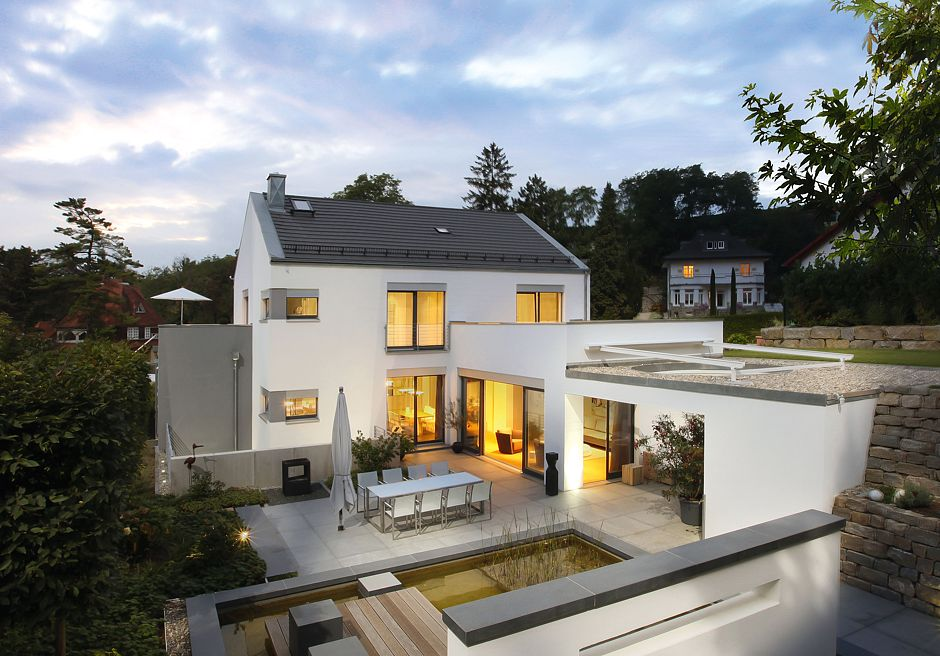 Architektenhaus Terrasse Quelle: Kosima Haus