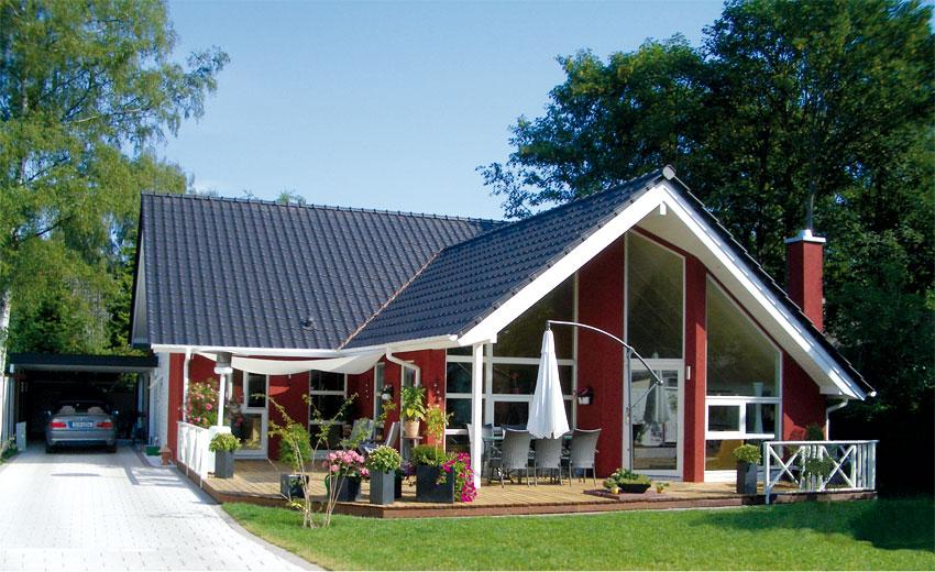 Flandern Massivhaus Hausbeispiel 1