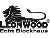 Leonwood - Echt Blockhaus - Logo