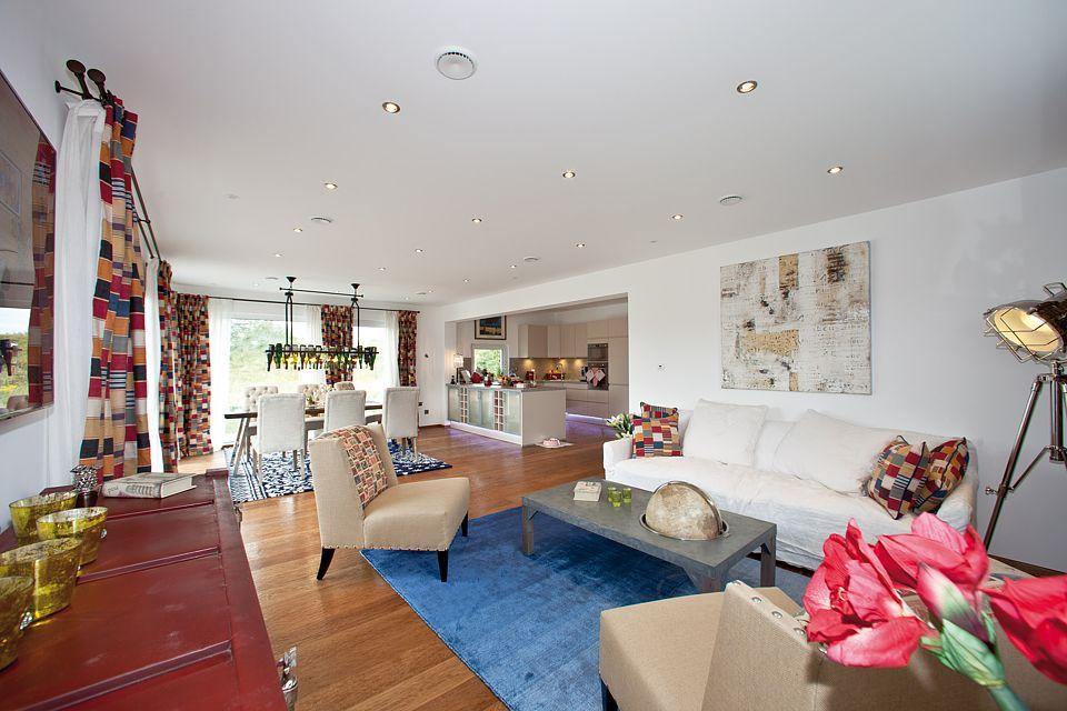 Durchdachte raumgestaltung und klare linienf hrung www for Hausbaufirmen berlin