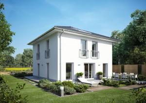 Häuser mit Charakter - Stadtvilla ab 160.042 €*, Wfl. ca. 123,19 m2  |  2 Geschosse | 4 Zimmer