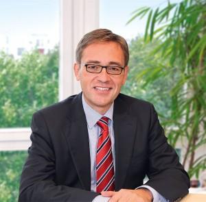 Wolfgang Houy, Geschäftsführer der Berliner Volksbank Immobilien GmbH