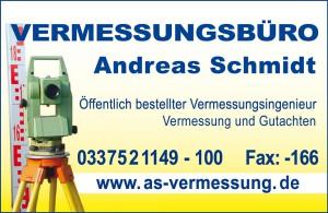 Vermesser Vermessungsbüro Andreas Schmidt