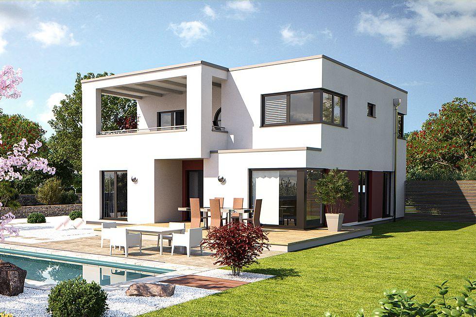 Bärenhaus Fine Arts 211 - Ein Stadthaus der besonderen Art. Das moderne Haus mit Garage und Terrasse ist ein Einfamilienhaus mit 5 Wohnräumen