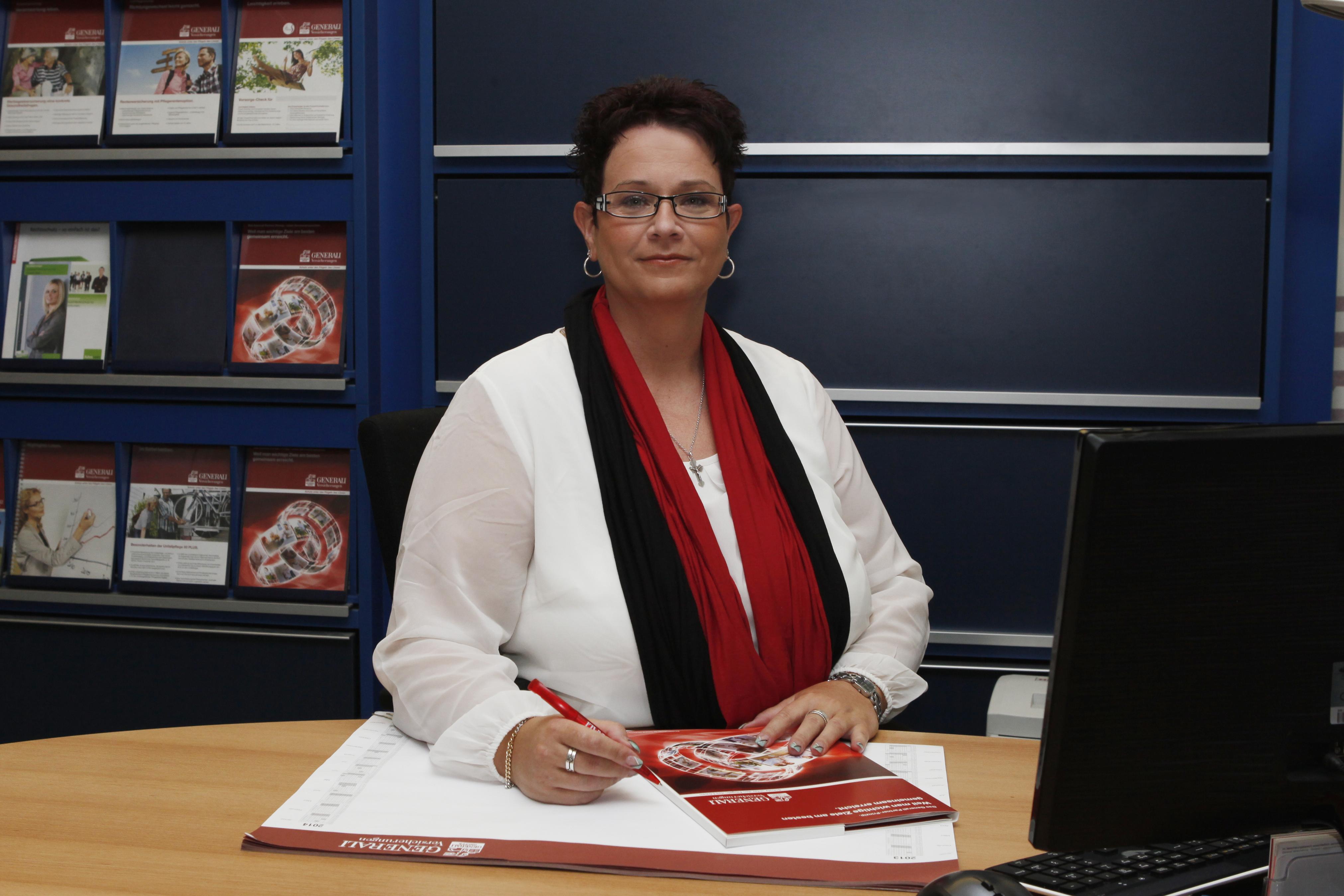 Christina Kargus, Beraterin der Generali Versicherungen