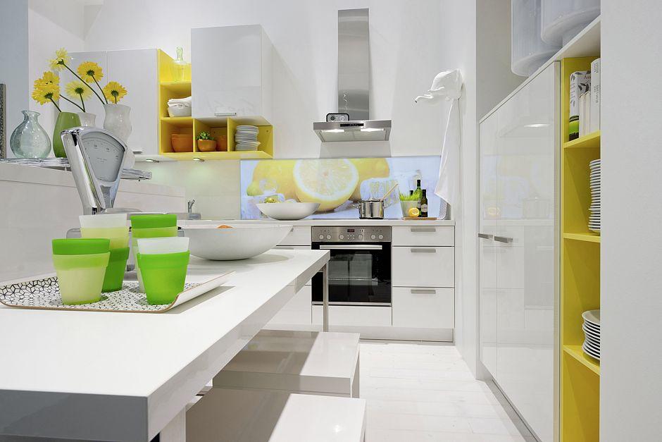 Farbgestaltung in der Küche: Drei Farben sind genug | www.immobilien ...