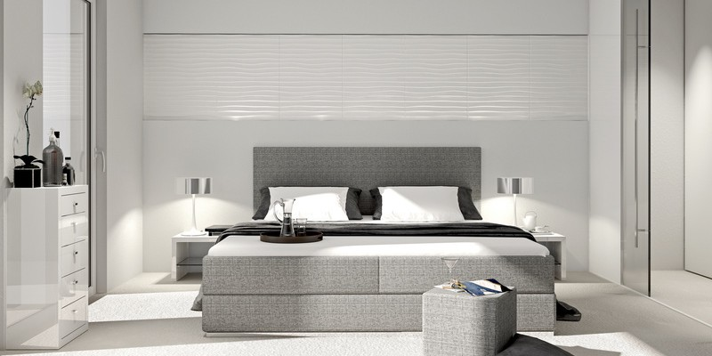boxspringbetten erobern die schlafzimmer. Black Bedroom Furniture Sets. Home Design Ideas