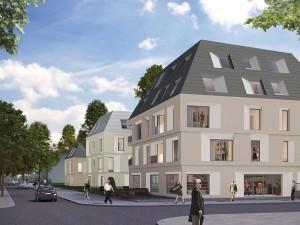Ein besonderes Detail ist die abgeschrägte Fensterlaibung Foto: Helma Wohnungsbau GmbH