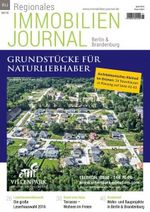 Regionales Immobilien Journal Berlin-Brandenburg April 2016