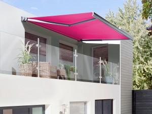 Beim Sonnen- und Wetterschutz für die Terrasse setzen wir auf Qualität © Kahn Sonnenschutz