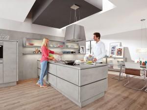 Qualitätsgeprüfte Küchen bieten langfristig Freude am Kochen. Foto: DGM/Nobilia
