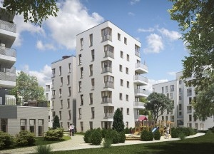 Neuer Wohnungskomplex in Karlshorst  © Helma Wohnungsbau GmbH