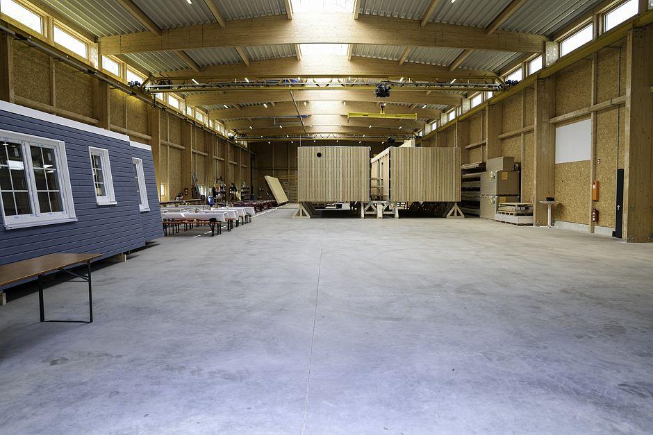 Max - Haus - Einweihung der Produktionshalle