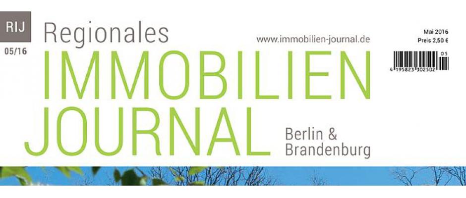 Regionales Immobilien Journal Berlin-Brandenburg Mai 2016