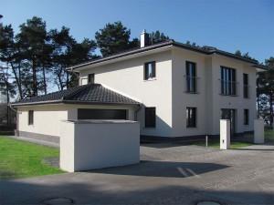 Das Haus der Familie Schüler im Villenpark Potsdam-Groß Glienicke