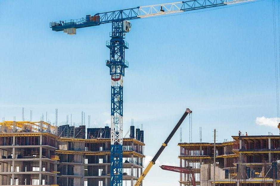 Fertigstellung von neuen Wohnungen
