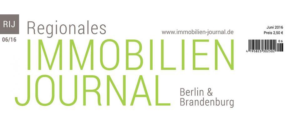 Regionales Immobilien Journal Berlin-Brandenburg Juni 2016