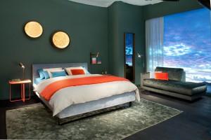 Die richtige Farbe im Schlafzimmer beruhigt die Nerven. Foto: VDM/Christine Kröncke