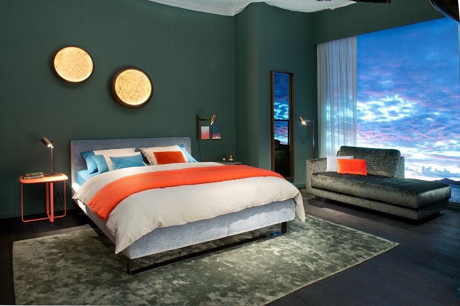Fantastisch Die Richtige Farbe Im Schlafzimmer Beruhigt Die Nerven. Foto: VDM/Christine  Kröncke