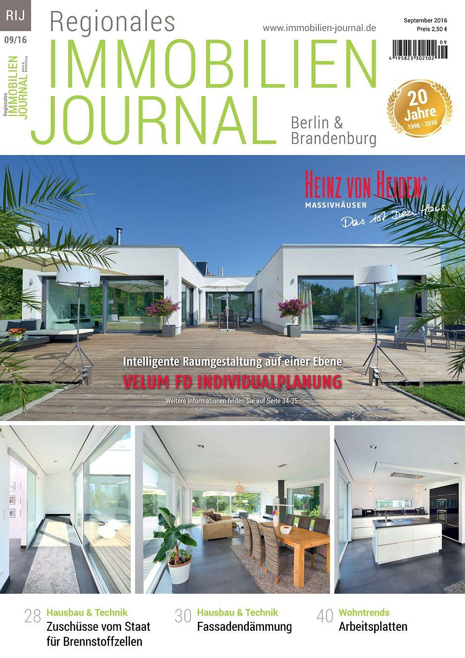 Regionales immobilien journal berlin brandenburg september for Hausbaufirmen brandenburg