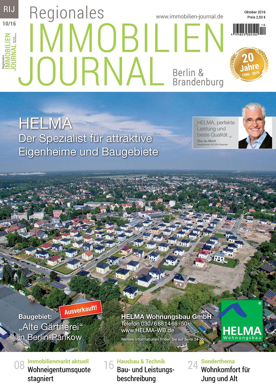 Regionales immobilien journal berlin brandenburg oktober for Hausbaufirmen brandenburg