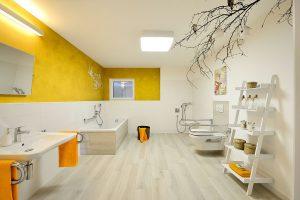 Kampa Musterhaus Bad der Einliegerwohnung © KAMPA