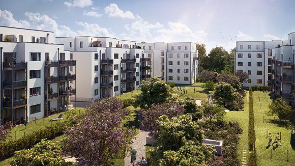 Quartier Biesdorfer Stadtgärten © Bonava
