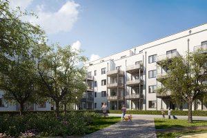 Ende September wurde der Grundstein für das neue Quartier Biesdorfer Stadtgärten gelegt © Bonava