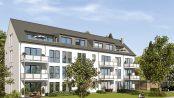 Von Balkon, Loggia oder Terrasse lässt sich die grüne Umgebung wunderbar genießen. Foto: HELMA Wohnungsbau GmbH