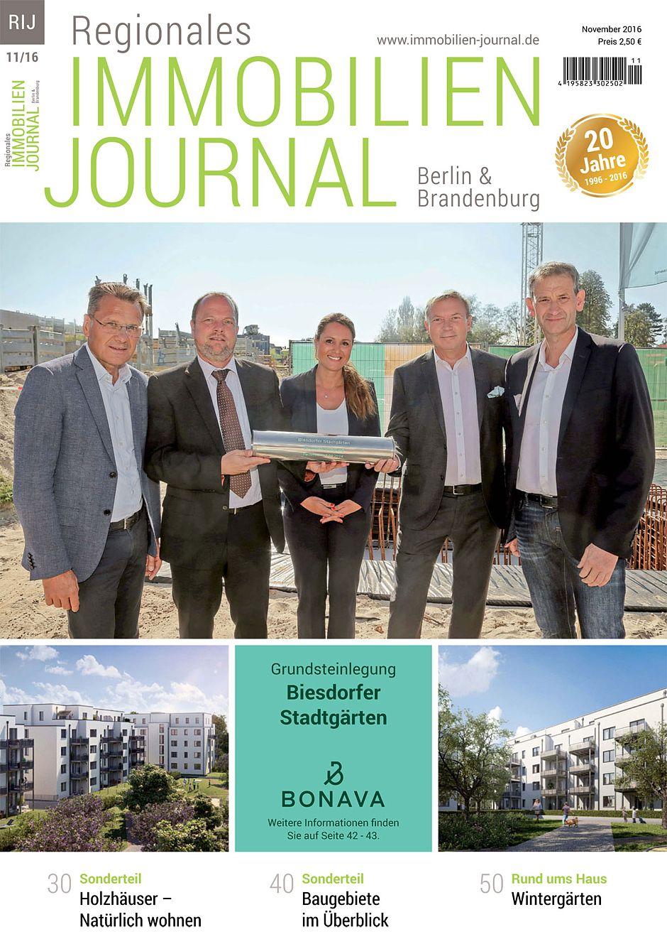 Regionales Immobilien Journal Berlin-Brandenburg November 2016