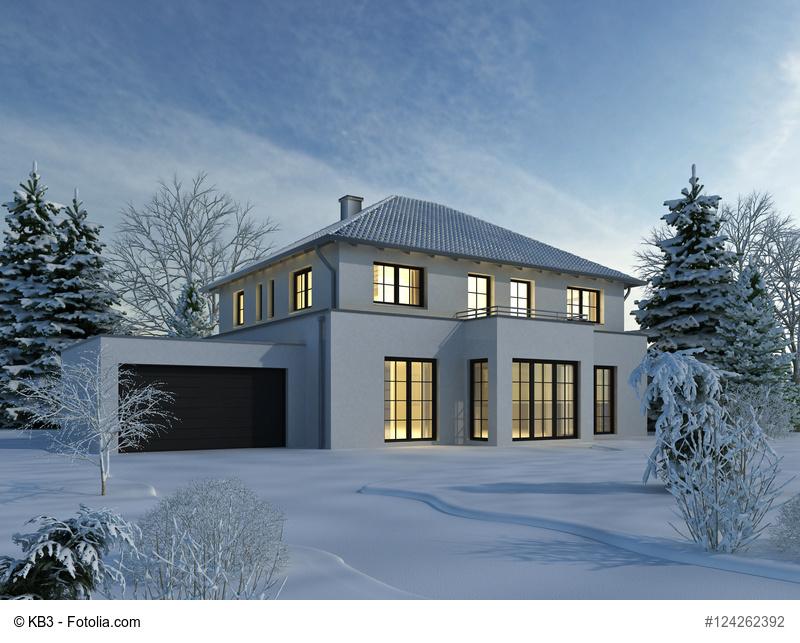 Haus auf den Winter vorbereiten © KB3 / Fotolia.com