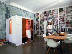 Sei schlau – geh in die Sauna: Die intelligente Sauna hilft der Gesundheit und entspannt den Geist. Foto: Gütegemeinschaft Saunabau/akz-o