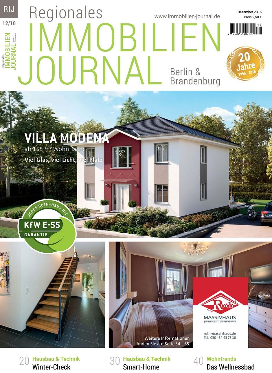 Regionales Immobilien Journal Berlin & Brandenburg Dezember 2016