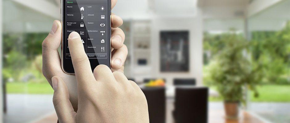 Haussteuerung mittels Smartphone © Gira